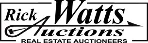 Rick Watts Auctions Logo